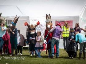 Pantomime Donkey Derby